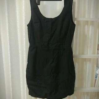 黑色迷你禮裙