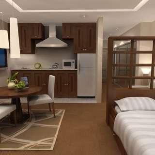 Paket Interior Furniture/Mebel Apartement Apartment Set tipe Studio #2