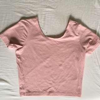 America Apparel Cropped Tshirt