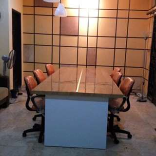 Meja Kerja/Meja Kantor Panjang HPL