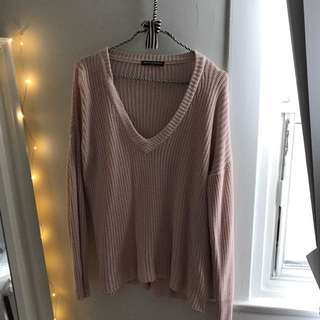 Brandy Melville Dusty Rose Knit
