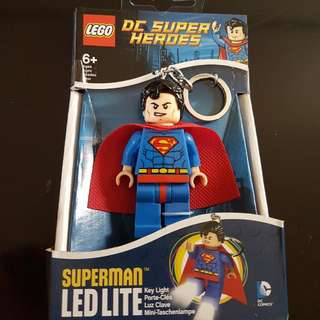 Lego Superman LED LITE Keychain