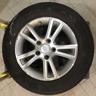 "15"" Hyundai Rim With Tyre"