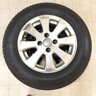 Toyota Altis Used Rims & Tyres Only 2