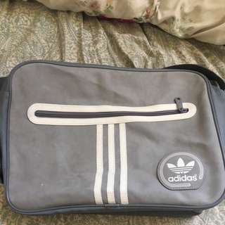 Adidas Grey Side Bag !!!REDUCEDD!!!