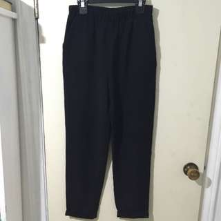 F21 Black Trousers