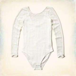 Scoop Back Lace Bodysuit