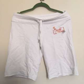 Bluenote White Beach Jogging Shorts