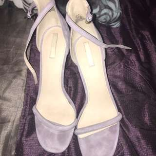 Violet High Heels
