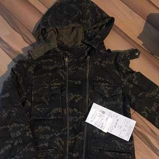 The Kooples Jacket receipt