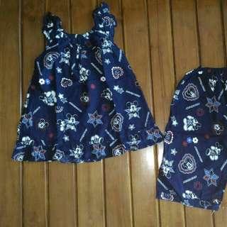 Set Baju Tidur Anak 3-5 Tahun