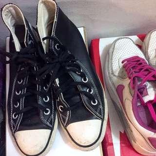 Nike + Converse 球鞋 一雙150
