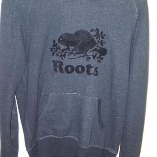 Roots Black Salt And Pepper Hoodie