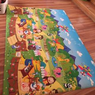 Playpen And Playmat