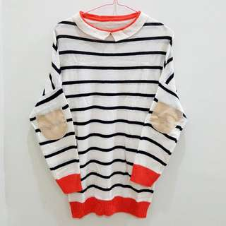 Sweater Stripe Orange
