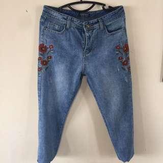 Replica Zara Jeans (beli Online Tp Kebesaran)