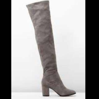 Dotti Microsuede Over The Knee Boots