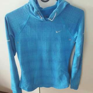 Nike Womens Dri-fit Hooded Long Sleeve Xs