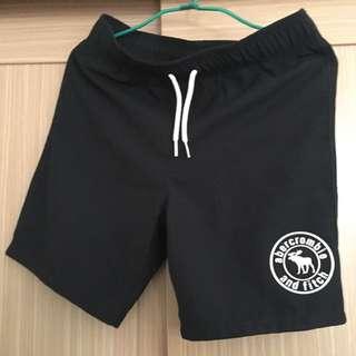 a&f 男童織布短褲