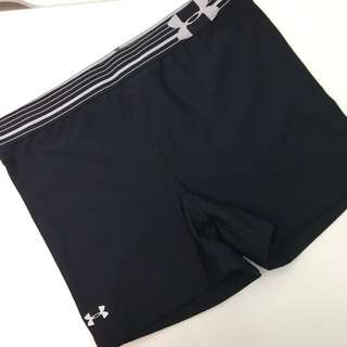 Black Fitted Under Armour Shorts