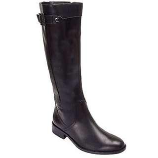 $100 OFF | Long Leather Boots | Black 39 | Jane Debster
