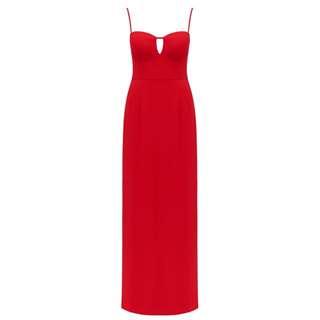 Forever New Red Formal Dress