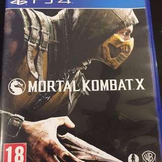 PS4 Motal Combat X