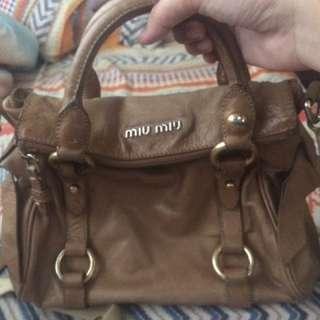 c6af2e49d46b Miu Miu Vitello Lux Bow sling bag