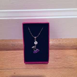 New Cherry Necklace