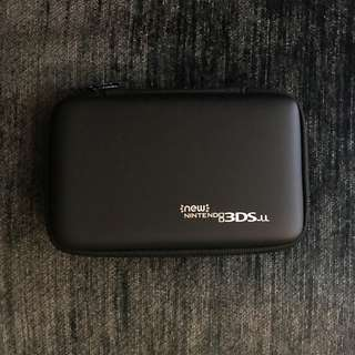 High Quality Black Hardcover Case for the new/old 3DS XL/LL