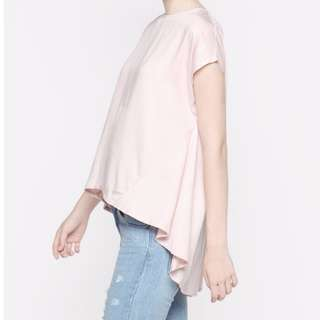 Cottonink - Short Sleeved Pink Shellina