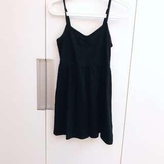 FOREVER21 黑色小洋裝