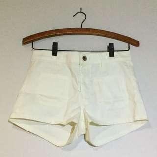 Sheer Beige H&m Shorts
