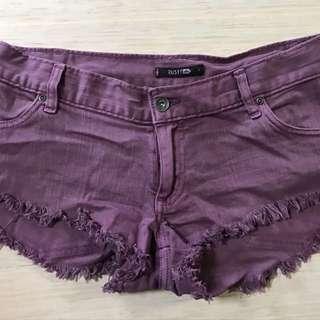 Rusty Denim Shorts Size 8