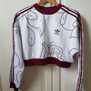 Adidas Rita Ora Cropped Sweatshirt