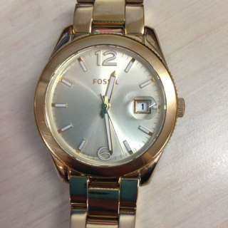 AUTHENTIC FOSSIL GOLD