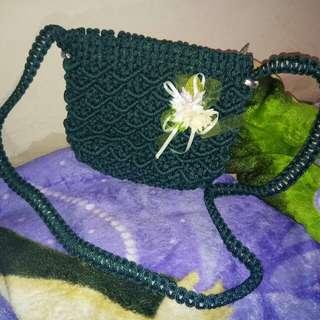 Tas Rajut Greenhulk (Sling Bag)