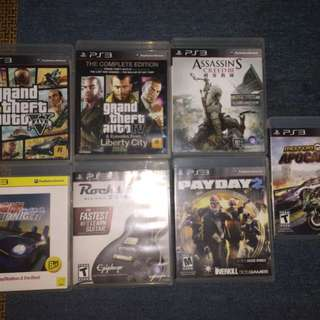 PS3 Game CDs