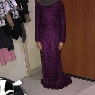 Custom Long Sleeve Maxi Dress