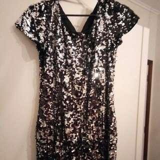 Sequined Pagani Short Dress