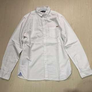 Bershka white shirt