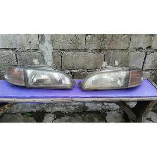 Honda ESI  Headlights And Tail Lights