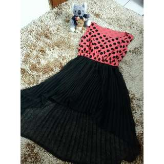 Polkadot Flaire Dress
