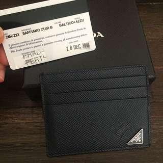 Authentic Prada Mens' Credit Card Holder