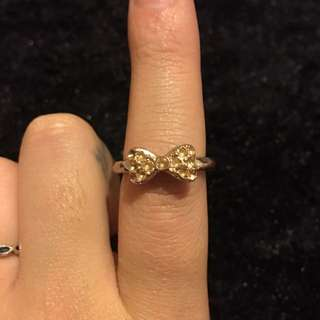 CUTE BOW RING