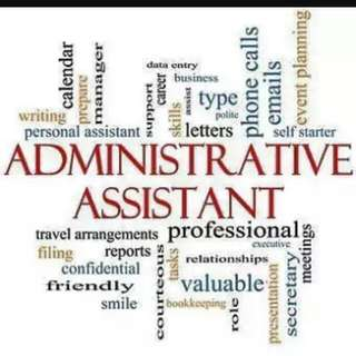 Part Time Admin Assistant Needed
