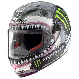 Shark Lorenzo Race R Pro Limited Edition White Shark Aragon Helmet