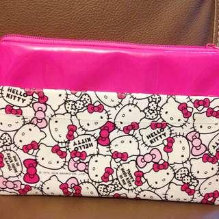 Hello Kitty 可愛雙層收納袋