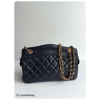 Chanel Vintage Royal Blue Shoulder Bag