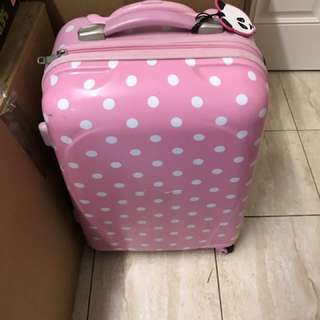 Polka Dot Carry On Luggage